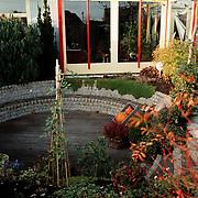 Woning Rob Verlinden James Stewartstraat achterzijde tuin in Almere
