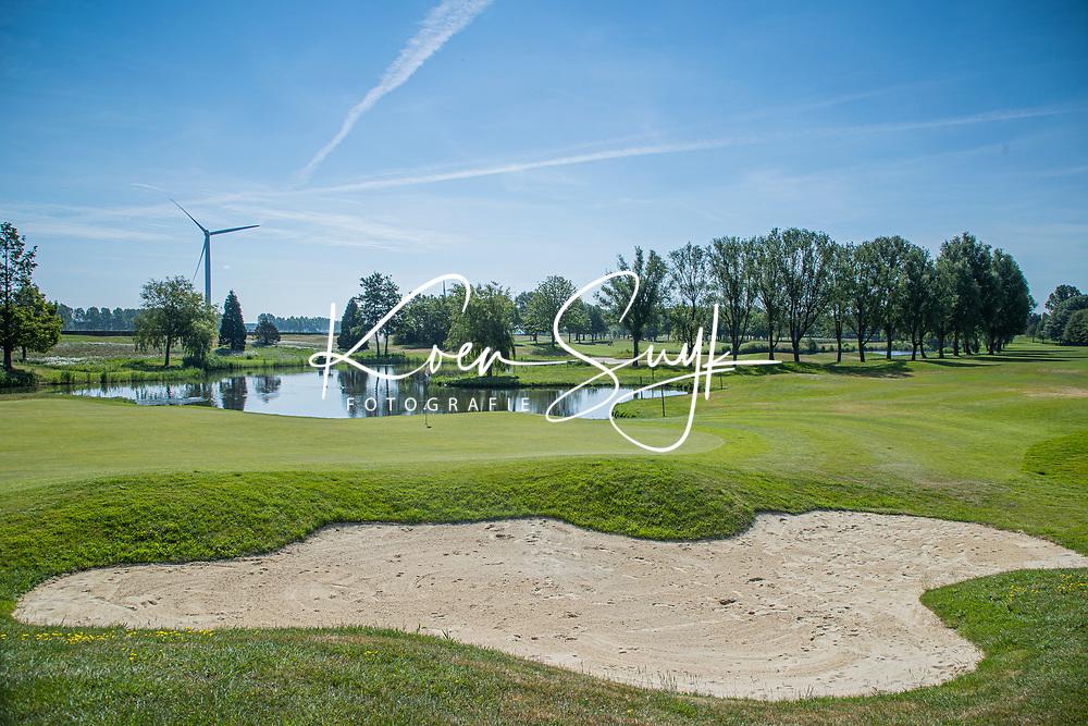 BRIELLE - Hole 16.  Kleiburg , golfbaan.  COPYRIGHT KOEN SUYK