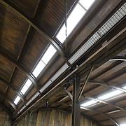 NLD/Bussum/20131219 - Perspresentatie nieuwe real life soap Utopia, dak van het verblijf