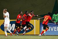 Fotball<br /> Afrika mesterskapet<br /> Foto: imago/Digitalsport<br /> NORWAY ONLY<br /> <br /> 27.01.<br /> Torjubel Angola, u.a. Torschütze Manucho (2.v.re.) <br /> <br /> Senegal - Angola 1:3