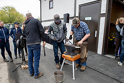 Opening, new farrier shop, Spruce Meadows<br /> Spruce Meadows Masters - Calgary<br /> © Hippo Foto - Dirk Caremans<br /> 04/09/2018