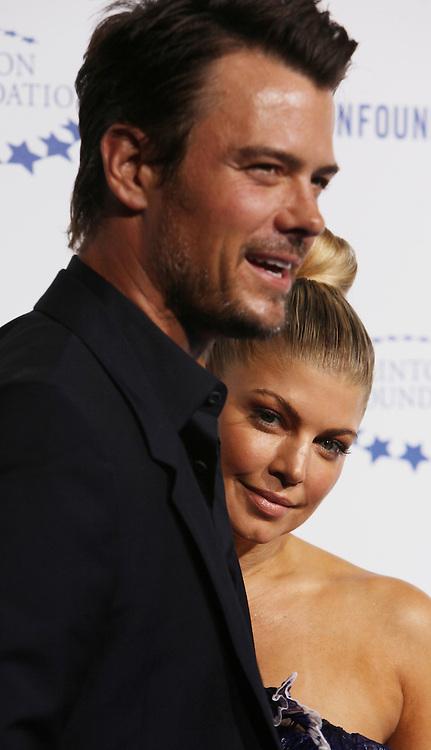 Fergie, Josh Duhamel..Arrivals at the Clinton Gala at the Hollywood Palladium.