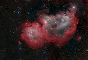 Emission nebula IC 1848 in constellation Cassiopea.