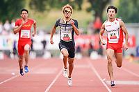 09.07.2019; Luzern; LEICHTATHLETIK - Spitzenleichtathletik Luzern, Kenji Fujimitsu (JPN) 200m Maenner ; <br /> <br /> (Claudio Thoma/freshfocus)