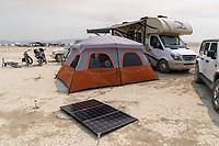 Nice Little Solar Array Dude! - https://Duncan.co/Burning-Man-2021