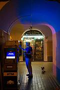 Italy, Como Bellagio, cigarette machine