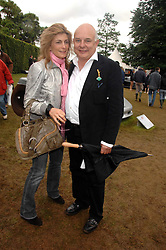 Designer ROLF SACHS and his wife MARYAM at the Cartier Style Et Luxe at the Goodwood Festival of Speed, Goodwood House, West Sussex on 24th June 2007.<br />
