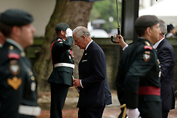 The Prince of Wales arrives at the funeral of Countess Mountbatten of Burma at St Paul's Church, Knightsbridge, London.