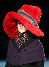 Marc Jacobs show in New York A/W 2012