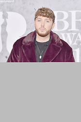 February 20, 2019 - London, United Kingdom of Great Britain and Northern Ireland - James Arthur arriving at The BRIT Awards 2019 at The O2 Arena on February 20, 2019 in London, England  (Credit Image: © Famous/Ace Pictures via ZUMA Press)