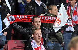02.11.2011, Amsterdam Arena. Amsterdam, NED, UEFA Champions League, Vorrunde, Ajax Amsterdam (NED) vs Dinamo Zagreb (CRO), im Bild Ajax supporters// during Ajax Amsterdam (NED) vs Dinamo Zagreb (CRO), at Amsterdam Arena, Amsterdam, NED, 2011-11-02. EXPA Pictures © 2011, PhotoCredit: EXPA/ nph/ PIXSELL/ Marko Lukunic       ****** out of GER / CRO  / BEL ******
