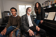 COLUMBIA, MD -- 12/20/14 -- Tom Monroe, 58, and his sons, Elias Jack-Monroe, 17, and Theo Jack-Monroe, 14, talk about the complexity of being a biracial family.…by André Chung #_AC23341