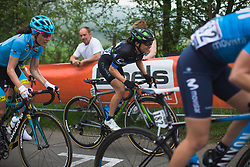 Omer Shapira (ISR) of Cylance Pro Cycling rides La Redoute during Liege-Bastogne-Liege - a 136 km road race, between Bastogne and Ans on April 22, 2018, in Wallonia, Belgium. (Photo by Balint Hamvas/Velofocus.com)