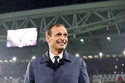 November 3, 2018 - Turin, Piedmont, Italy - Massimiliano Allegri, head coach of Juventus FC, during the Serie A football match between Juventus FC and Cagliari Calcio at Allianz Stadium on November 03, 2018 in Turin, Italy. Juventus won 3-1 over Cagliari. (Credit Image: © Massimiliano Ferraro/NurPhoto via ZUMA Press)
