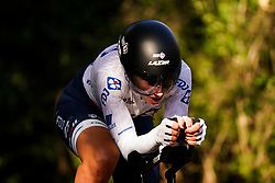 Eugenie Duval of FDJ Nouvelle-Aquitaine Futuroscope during the Stage Three Individual Time Trial of the AJ Bell Women's Tour in Atherstone, UK. Picture date: Wednesday October 6, 2021.