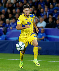 Alex Telles of FC Porto  - Mandatory by-line: Matt McNulty/JMP - 27/09/2016 - FOOTBALL - King Power Stadium - Leicester, England - Leicester City v FC Porto - UEFA Champions League