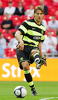 Celtic FC vs Al Ahly Wembley Cup 24/07/09<br /> Photo Nicky Hayes/Fotosports International<br /> Celtic defender Glen Loovens in action.