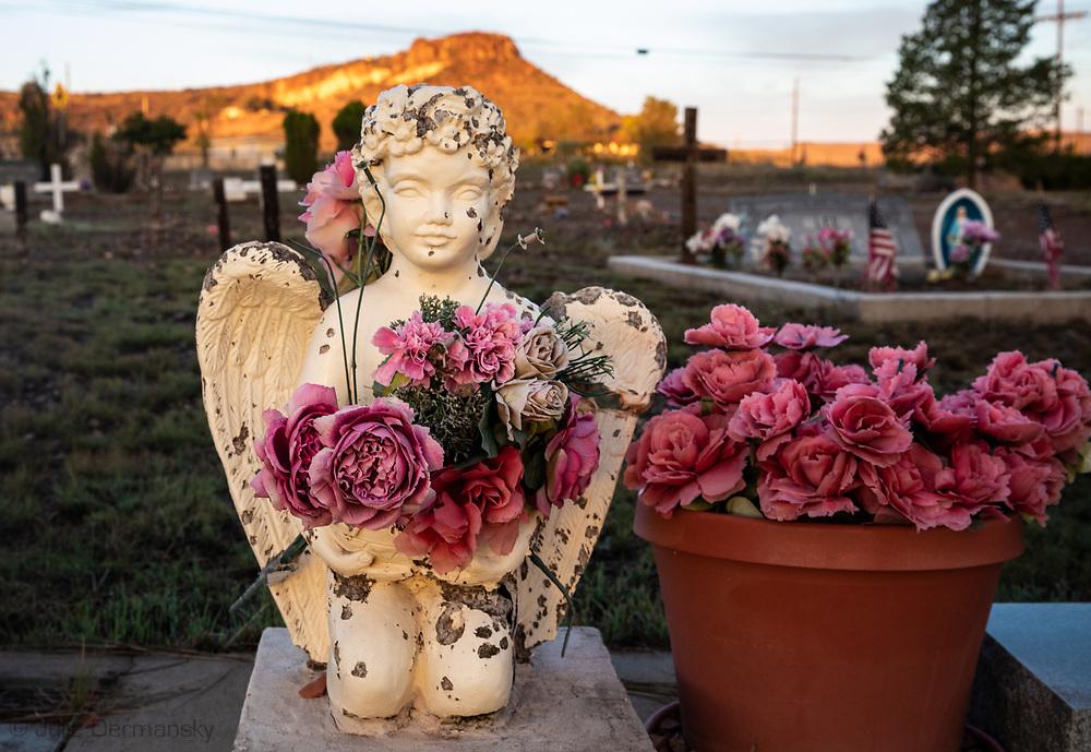 Cemetery in Fort Davis, Texas