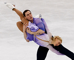 February 15, 2018 - Gangneung, South Korea - ALJONA SAVCHENKO and BRUNO MASSOT of Germany win the gold medal the Pairs Figure Skating Free Skating at the PyeongChang 2018 Winter Olympic Games at Gangneung Ice Arena. (Credit Image: © Paul Kitagaki Jr. via ZUMA Wire)