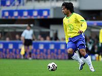 Fotball <br /> FIFA World Youth Championships 2005<br /> Emmen<br /> Nederland / Holland<br /> 12.06.2005<br /> Foto: Morten Olsen, Digitalsport<br /> <br /> Brasil v Nigeria 0-0<br /> <br /> Roberto - Brasil