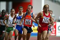 Friidrett, 23. august 2003, VM Paris,( World Championschip in Athletics),   Gert-Jan Liefers, Ned, Nederland, Mehdi Baala (457),  Reyes Estevez (384)