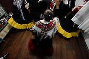 Rodeio_SC, Brasil.<br /> <br /> Imagens do cotidiano da cidade de Rodeio, uma das principais colonia de imigrantes italianos do estado. Na foto danca tipica da Italia: Tarantela.<br /> <br /> Images of Rodeo, one of the main colony of Italian immigrants in the state. Pictured dance typical of Italy: Tarantella.<br /> <br /> Foto: BRUNO MAGALHAES / NITRO