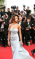 Madalina Ghenea attends the gala screening of Lawless at the 65th Cannes Film Festival. The screenplay for the film Lawless was written by Nick Cave and Directed by John Hillcoat. Saturday 19th May 2012 in Cannes Film Festival, France.