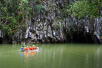 Philippines, ile de Palawan, Parc national de la rivière souterraine de Puerto Princesa, patrimoine mondial de l Unesco.  // Philippines, Palawan island, Puerto Princesa Subterranean River National Parc, Unesco Woeld Heritage.