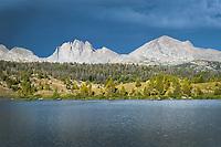 Mount Bonneville and Raid Peak from Dream Lake. Wind River Range Wyoming
