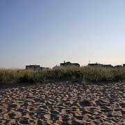 An early evening beach scene in the height of summer on Cisco Beach, Nantucket, Nantucket Island, Massachusetts, USA. Photo Tim Clayton