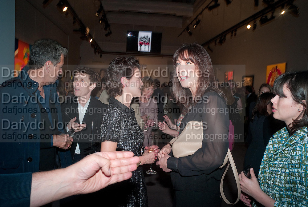 MARIO TESTINO; SOPHIE HICKS; MELANIE CLORE; SAMANTHA CAMERON; ISABEL SPEARMAN; , Can we Still Be Friends- by Alexandra Shulman.- Book launch. Sotheby's. London. 28 March 2012.