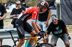 Domen Novak of Bahrain Victorious  during Slovenian National Road Cycling Championships 2021, on June 20, 2021 in Koper / Capodistria, Slovenia. Photo by Vid Ponikvar / Sportida