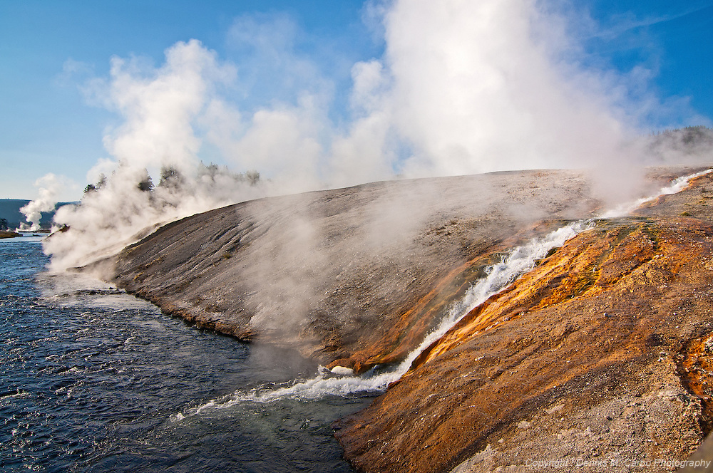 Midway Geyser Runoff at Yellowstone National Park