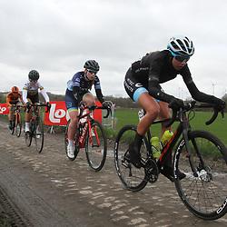 03-03-2020: Wielrennen: GP Le Samyn: vrouwen: Dour: Amalie Lutro