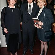 Premiere musical Tsjechov Gouda, Annemarie Jorritsma, haar man Gerlof en Anne Wil Blankers