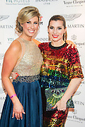 Julia Immonen, the charity organiser and Grace Woddward, Sky Living - UK charity, Sport for Freedom (SFF), marks Anti-Slavery Day 2015 by hosting a charity Gala Dinner, supported by Aston Martin, on Thursday 15th October at Stamford Bridge, home of Chelsea Football Club. This inaugural event brought together people from the world of sport, entertainment, media, and business to unite behind a promise to tackle the issue of modern day human trafficking and slavery.  <br /> Hosted by Sky presenters Sarah-Jane Mee and Jim White, the Sport for Freedom Gala Dinner includes guests such as jockey AP McCoy OBE; Denise Lewis, former British Olympic Gold Medal winner; BBC Strictly star, Brendan Cole; Al Bangura, former Watford FC player and Sport for Freedom Ambassador who was trafficked from Africa to the UK at the age of just 14yrs old; Made in Chelsea star, Ollie Proudlock; ITV weather presenter, Lucy Verasamy; Sky Sports F1 presenter and SFF Ambassador, Natalie Pinkham; Premier League footballers Ryan Bertrand of Southampton FC and Troy Deeney of Watford FC and champion boxer, Anthony Joshua; and The UK's first independent Anti Slavery Commissioner, Kevin Hyland OBE, who highlighted the issues of modern day slavery that face the UK and world today. <br /> The evening concluded with chart topping music from 'Naughty Boy'. <br /> Sport for Freedom are also joining forces with the Premier League Academies for an international  'Football for Freedom' tournament with their U16's players that will also involve educating those taking part about the issues surrounding modern day slavery. The final will take place at Liverpool FC's Academy on Anti-Slavery Day, 18th October.