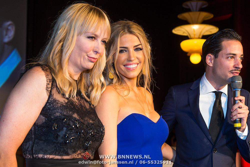 NLD/Amsterdam/20130923 - Grazia Red Carpet Awards 2013, Yolanthe Cabau van Kasbergen, Hilmar Mulder en Valerio Zeno
