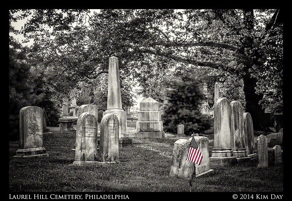 Laurel HIll Cemetery - Philadelphia<br /> July 2014