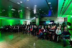 Spectators during Slovenian Disabled Sports personality of the year 2017 event, on December 6, 2017 in Austria Trend Hotel, Ljubljana, Slovenia. Photo by Vid Ponikvar / Sportida