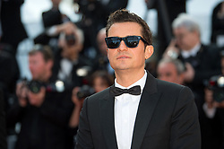 Orlando Bloom arriving on the red carpet of 'The Traitor (Il Traditore)' screening held at the Palais Des Festivals in Cannes, France on May 23, 2019 as part of the 72th Cannes Film Festival. Photo by Nicolas Genin/ABACAPRESS.COM