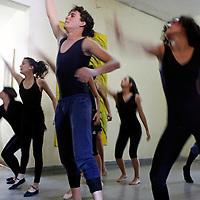 Central America, Cuba, Santa Clara. Dance and mime performed at Santa Clara Musical School of Art.