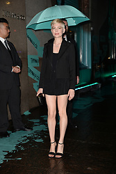 May 3, 2018 - New York, New York, U.S. - MICHELLE WILLIAMS attending Tiffany & Co. 'Paper Flowers' jewelry collection launch in New York City. (Credit Image: © Kristin Callahan/Ace Pictures via ZUMA Press)
