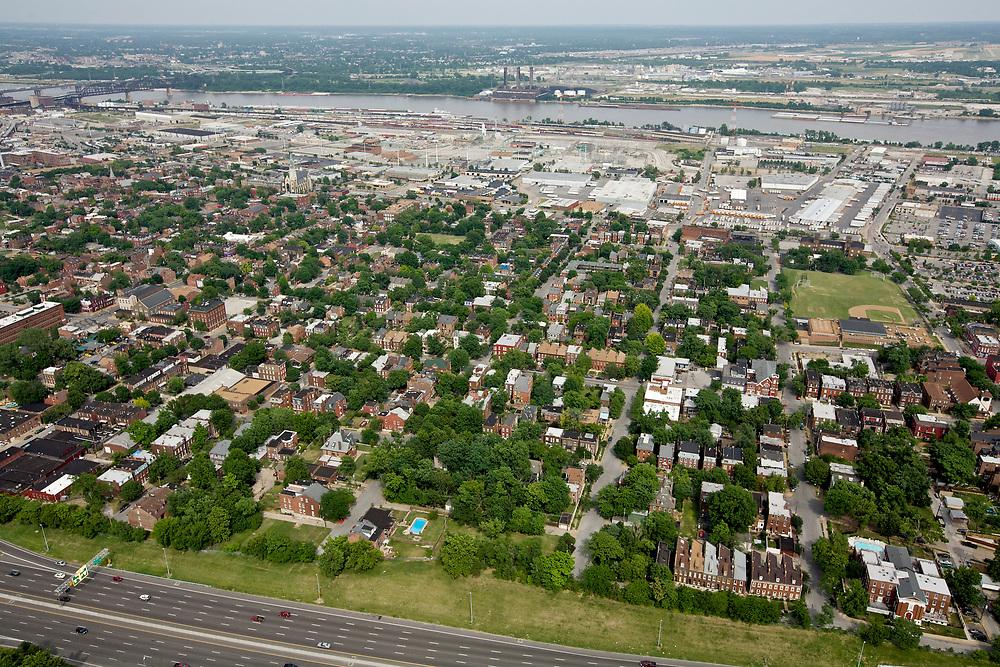 Soulard neighborhood in St. Louis, Missouri
