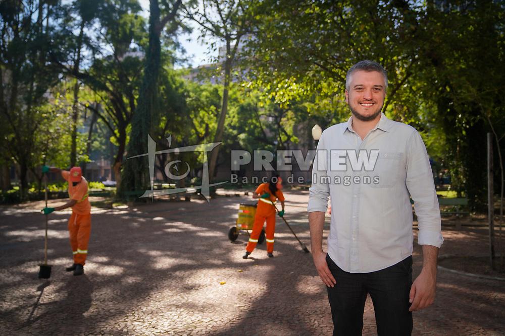 Ramiro Rosário é vereador de Porto Alegre eleito em 2016 pelo PSDB com 4.676 votos. Foi secretário municipal de Serviços Urbanos e membro fundador do Movimento Brasil Livre (MBL) no Rio Grande do Sul. FOTO: Jefferson Bernardes/ Agência Preview