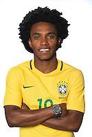 Football Conmebol_Concacaf - <br />Copa America Centenario Usa 2016 - <br />Brazil National Team - Group B - <br />Willian Borges da Silva