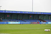 the main stand home of Everton Women during the FA Women's Super League match between Everton Women and Brighton and Hove Albion Women at the Select Security Stadium, Halton, United Kingdom on 18 October 2020.