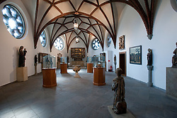 Main hall inside Markisches Museum in central Berlin Germany