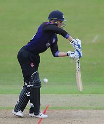 Benny Howell of Gloucestershire  - Photo mandatory by-line: Dougie Allward/JMP - Mobile: 07966 386802 - 14/07/2015 - SPORT - Cricket - Cheltenham - Cheltenham College - Natwest T20 Blast