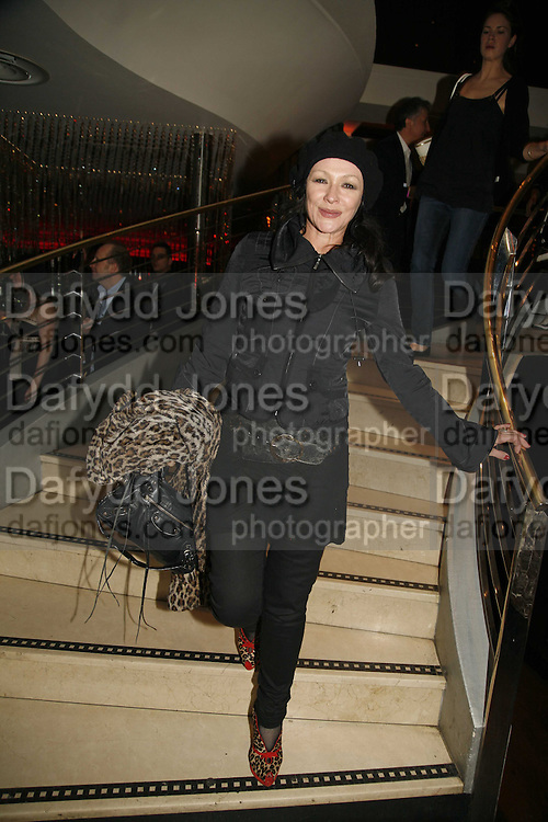 Frances Barber, First night party for Smaller  at Floridita, 100 Wardour Street W1 on Tuesday 4 AprilONE TIME USE ONLY - DO NOT ARCHIVE  © Copyright Photograph by Dafydd Jones 66 Stockwell Park Rd. London SW9 0DA Tel 020 7733 0108 www.dafjones.com
