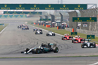 HAMILTON lewis (gbr) mercedes gp mgp w06 action during 2015 Formula 1 FIA world championship, China Grand Prix, at Shanghai from April 9th to 12th. Photo Alexandre Guillaumot / DPPI
